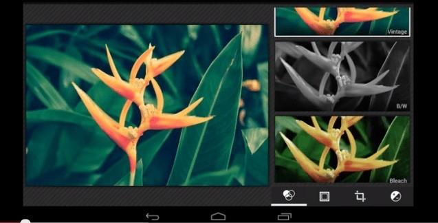 Android 4.4 KitKat integra un nuovo editor fotografico