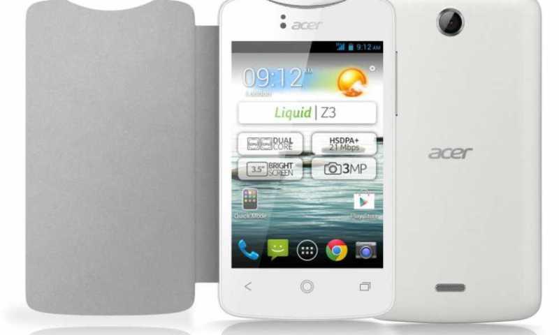 Acer Z150 in arrivo, sarà il nuovo Liquid Z5?