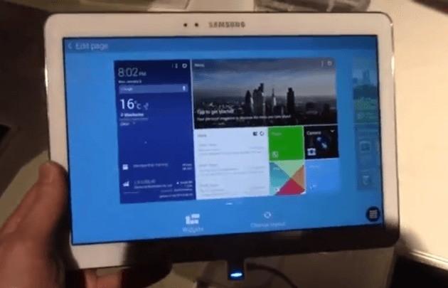 Samsung Galaxy Tab Pro 8.4, 10.1 e 12.2 in Video