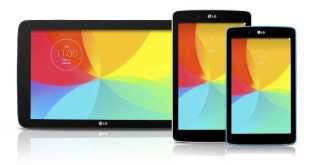 LG annuncia i nuovi tablet G Pad 7 – G Pad 8 e G Pad 10.1