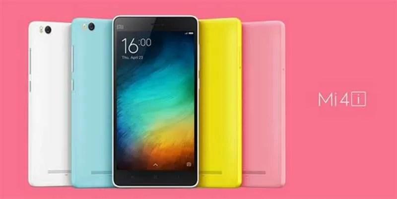 Scheda tecnica Xiaomi Mi 4i