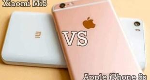 Migliori smartphone – Xiaomi Mi5 vs Apple iPhone 6s: confronto con foto!