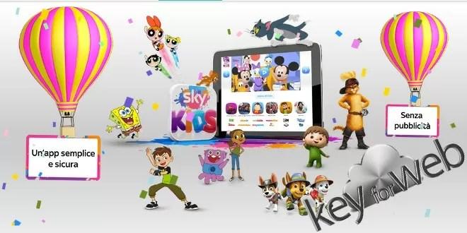 Sky Kids e la TV on demand diventa a portata dei bambini