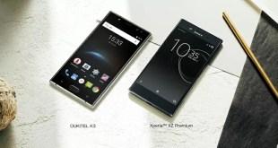 OUKITEL K3 più che un Sony Xperia XZ Premium
