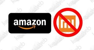 Amazon italia sospende la vendita di smartphone Xiaomi