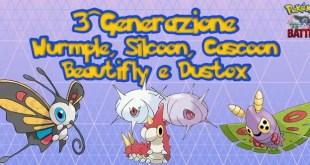 Pokémon GO: come far evolvere Wurmple in Silcoon o Cascoon
