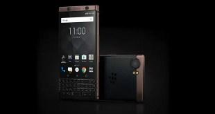 BlackBerry KEYone si tinge di bronzo al CES 2018