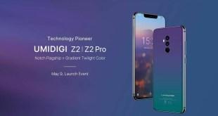 UMIDIGI Z2 e Z2 Pro, annunciati gli ultimi flagship della casa cinese
