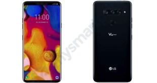 trapelano le immagini di LG V40 ThinQ: notch e tripla fotocamera posteriore
