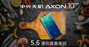 ZTE Axon 10 Pro 5G: dal 6 Maggio in Cina, primo teaser