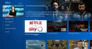 Netflix arriva su Sky Q dal 9 Ottobre: ecco la nuova offerta combinata