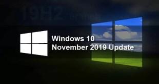 Windows 10: l'aggiornamento di Novembre 2019 è in arrivo