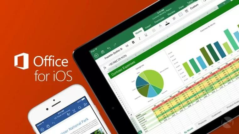Microsoft Office: arriva l'applicazione dedicata per iPadOS