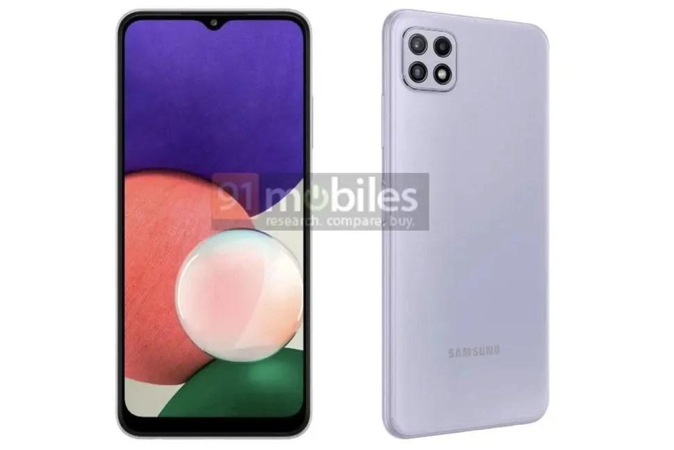 Samsung Galaxy A22: lo smartphone 5G più economico?