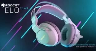 ROCCAT presenta le nuove Elo 7.1 Air bianche