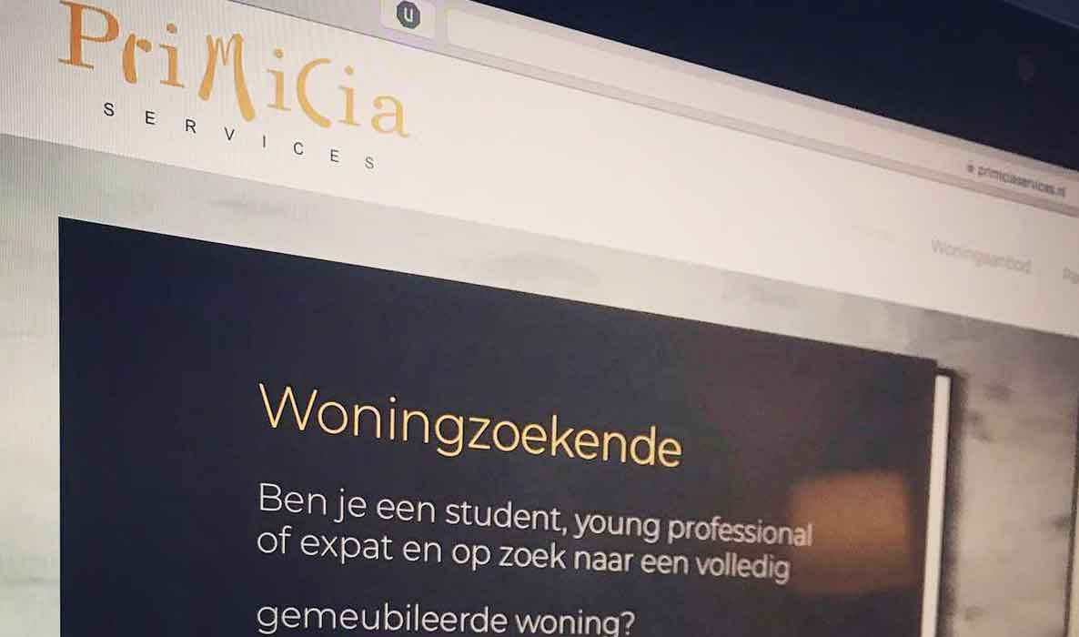 Primicia.nl website