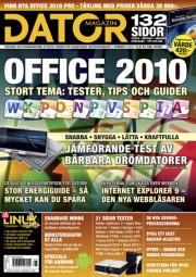 Datormagazin nr 8 / 2010