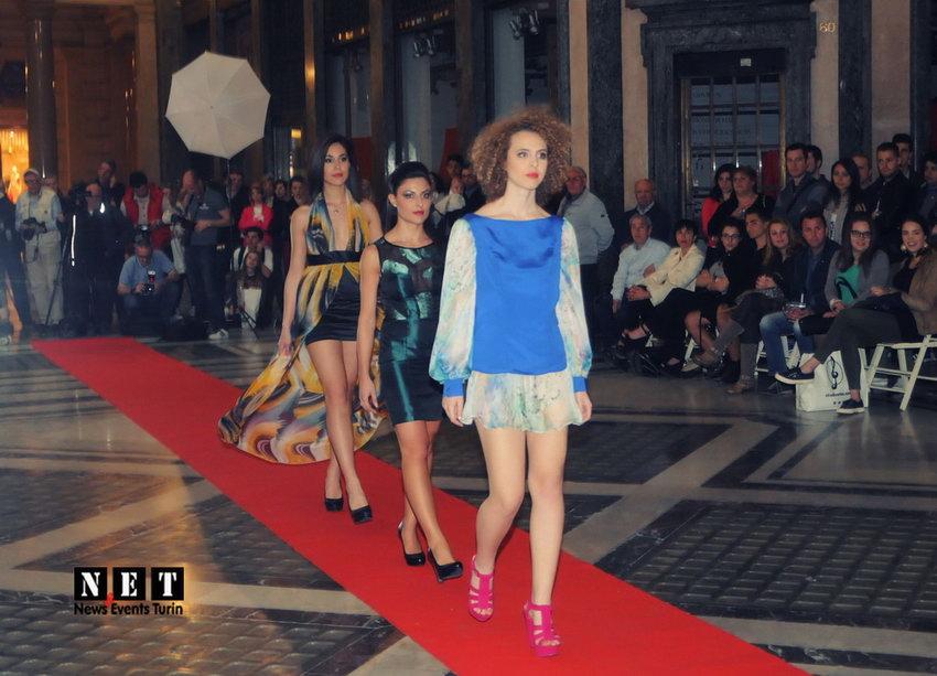 Новые таланты высокой моды в Турине Италии
