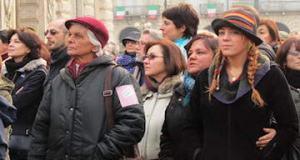 феминистки в италии Турин итальянка