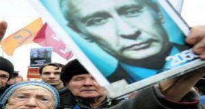 Путин манифестация Россия