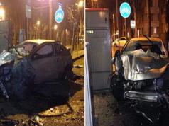 Украинка и молдаван авария в Турине