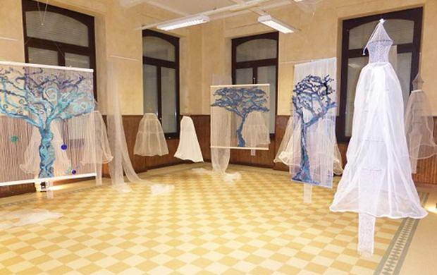 Международная выставка текстильной ремесел Турин Италия