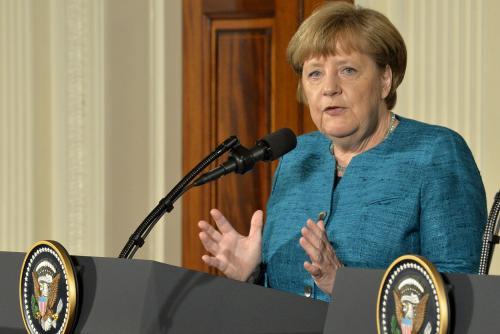 •German Chancellor Angela Merkel