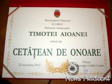 Diploma de Cetatean de Onoare