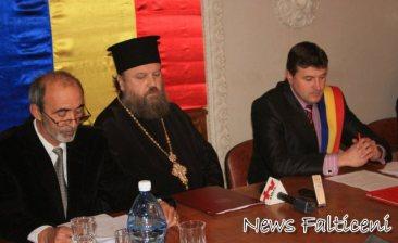 Presedinte sedinta Ioan Corduneanu, preot Timotei primar Coman