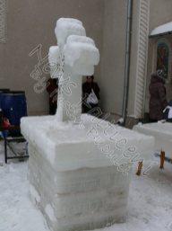 Cruce gheata Biserica Sf Pantelimon
