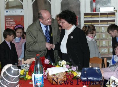 Falticeni-Coca Udisteanu si viceprimarul Gheorghe Aldea