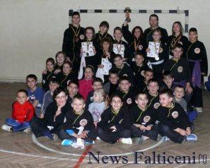 Falticeni-cea mai mare parte a copiilor inscrisi la clubul din Falticeni