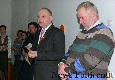 Falticeni-senatorul Ovidiu Dontu deputatul Ioan Stan