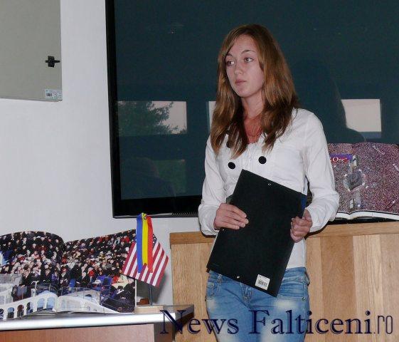 Falticeni-Intalnire cu America Iulia Macovei