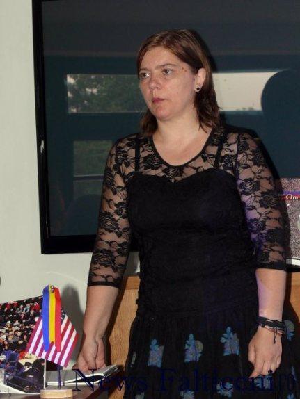 Falticeni-Intalnire cu America prof Elena Ghenghea