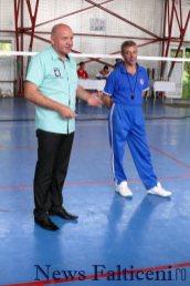 Falticeni-badminton Cristi Barculescu si Adrian Boicu