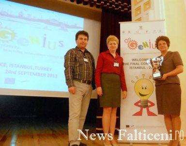 Falticeni-echipa de proiect de la CT Mihai Bacescu Falticeni
