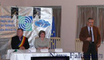 Falticeni-conferinta persoane dizabilitati fron si Izvoranu