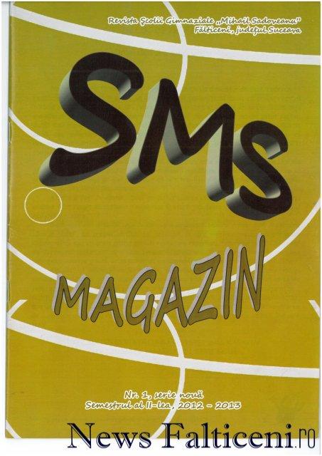 Falticeni-SMS Magazin