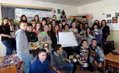 Falticeni-elevii romani si bulgari