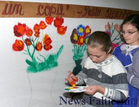 Falticeni-atelier creatie pictura 4
