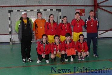 Falticeni-locul II echipa jud Timis