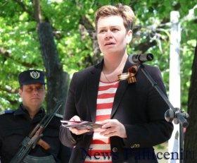 Falticeni-Secretar ambasada - Natalia Muzhennikova