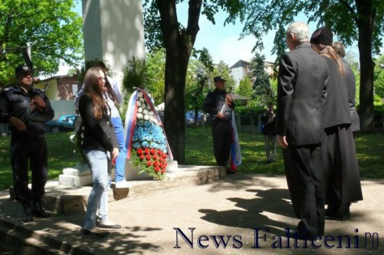 Falticeni-depuneri coroane Uniunea Rusilor Lipoveni