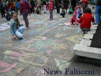 Falticeni-desene pe asfalt 4