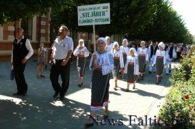Falticeni-Sezatoarea Copiilor parada portului popular 1