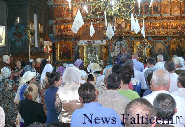 Falticeni-Slujba Biserica Sf. Ilie