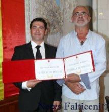 Falticeni-Teodor Ilincai si GHeorghe Balint cu diplomele de CO