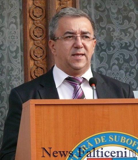 Falticeni-prefectul Florin Sinescu