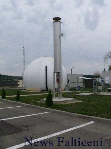 Falticeni -Statia epurare instalatie biogaz